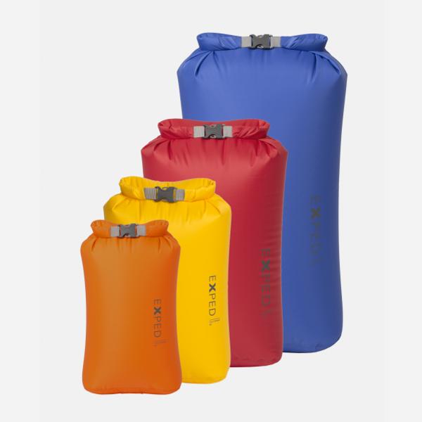 Bilde av Exped Fold Drybag 4-pack